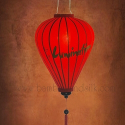 Hand-Painted-Logo-on-Red-Raw-Silk-Lantern
