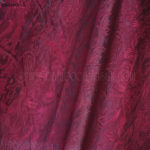 Cherry Jacquard Silk