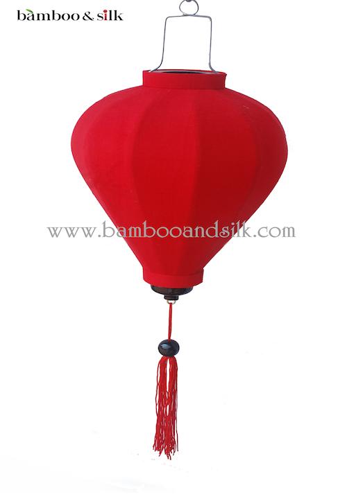 Balloon 35 cm Red Raw Silk ( L 35 J 1 RS)