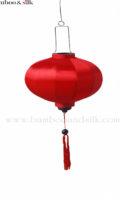 Round 45 cm Red Satin Silk ( L 45 A 1 SS)
